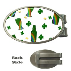 St. Patricks day  Money Clips (Oval)