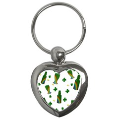 St. Patricks day  Key Chains (Heart)