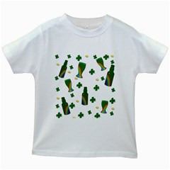 St. Patricks day  Kids White T-Shirts