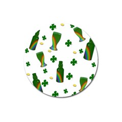 St. Patricks day  Magnet 3  (Round)