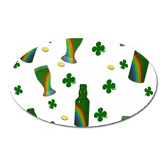 St. Patricks day  Oval Magnet