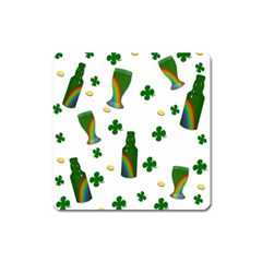 St. Patricks day  Square Magnet