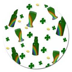 St. Patricks day  Magnet 5  (Round)