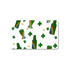 St. Patricks day  Magnet (Name Card)