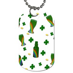 St. Patricks day  Dog Tag (One Side)