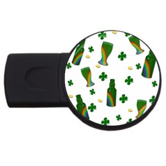 St. Patricks day  USB Flash Drive Round (2 GB)