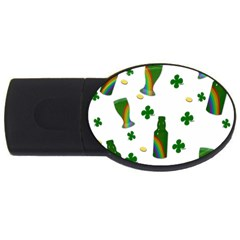 St. Patricks day  USB Flash Drive Oval (1 GB)