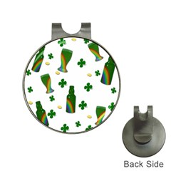 St. Patricks day  Hat Clips with Golf Markers