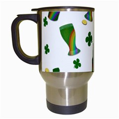 St. Patricks day  Travel Mugs (White)