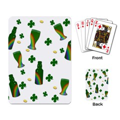 St. Patricks day  Playing Card