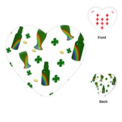 St. Patricks day  Playing Cards (Heart)