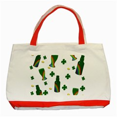 St. Patricks day  Classic Tote Bag (Red)