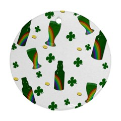 St. Patricks day  Round Ornament (Two Sides)