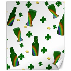 St. Patricks day  Canvas 8  x 10