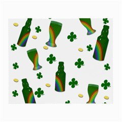 St. Patricks day  Small Glasses Cloth (2-Side)