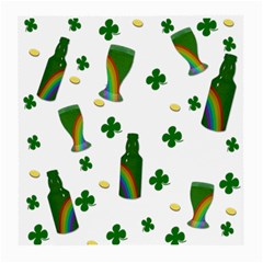 St. Patricks day  Medium Glasses Cloth (2-Side)