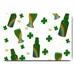 St. Patricks day  Large Doormat