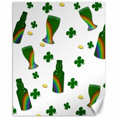 St. Patricks day  Canvas 11  x 14