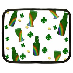 St. Patricks day  Netbook Case (Large)