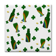 St. Patricks day  Face Towel