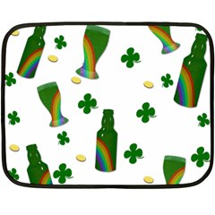 St. Patricks day  Double Sided Fleece Blanket (Mini)