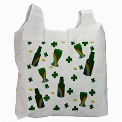St. Patricks day  Recycle Bag (Two Side)
