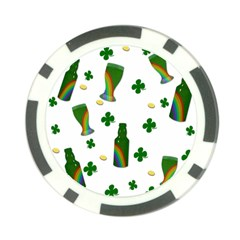 St. Patricks day  Poker Chip Card Guard (10 pack)