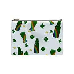 St. Patricks day  Cosmetic Bag (Medium)