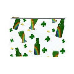 St. Patricks day  Cosmetic Bag (Large)