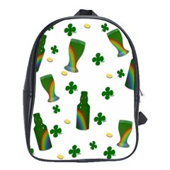 St. Patricks day  School Bags(Large)