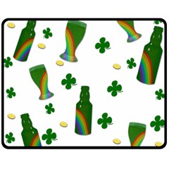 St. Patricks day  Fleece Blanket (Medium)