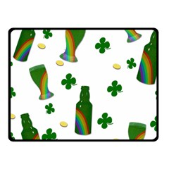 St. Patricks day  Fleece Blanket (Small)