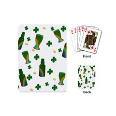 St. Patricks day  Playing Cards (Mini)
