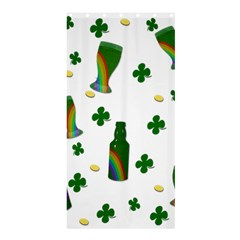 St. Patricks day  Shower Curtain 36  x 72  (Stall)