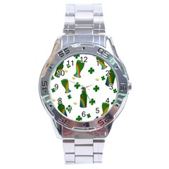 St. Patricks day  Stainless Steel Analogue Watch