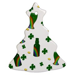 St. Patricks day  Christmas Tree Ornament (Two Sides)