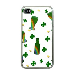 St. Patricks day  Apple iPhone 4 Case (Clear)