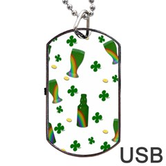 St. Patricks day  Dog Tag USB Flash (Two Sides)