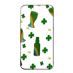 St. Patricks day  Apple iPhone 4/4s Seamless Case (Black)