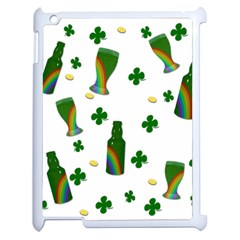 St. Patricks day  Apple iPad 2 Case (White)