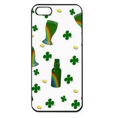 St. Patricks day  Apple iPhone 5 Seamless Case (Black)