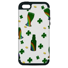 St. Patricks day  Apple iPhone 5 Hardshell Case (PC+Silicone)