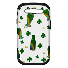 St. Patricks day  Samsung Galaxy S III Hardshell Case (PC+Silicone)