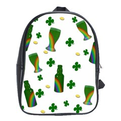 St. Patricks day  School Bags (XL)
