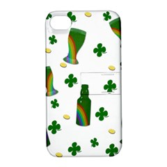 St. Patricks day  Apple iPhone 4/4S Hardshell Case with Stand