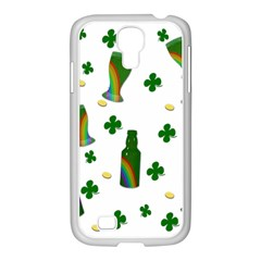 St. Patricks day  Samsung GALAXY S4 I9500/ I9505 Case (White)