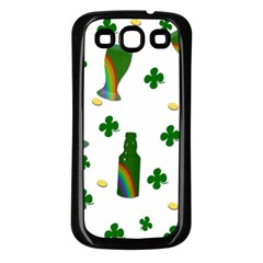 St. Patricks day  Samsung Galaxy S3 Back Case (Black)