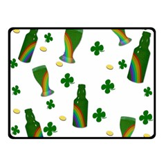 St. Patricks day  Double Sided Fleece Blanket (Small)