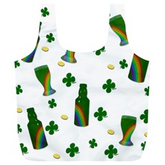 St. Patricks day  Full Print Recycle Bags (L)