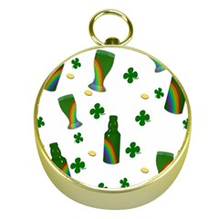 St. Patricks day  Gold Compasses
